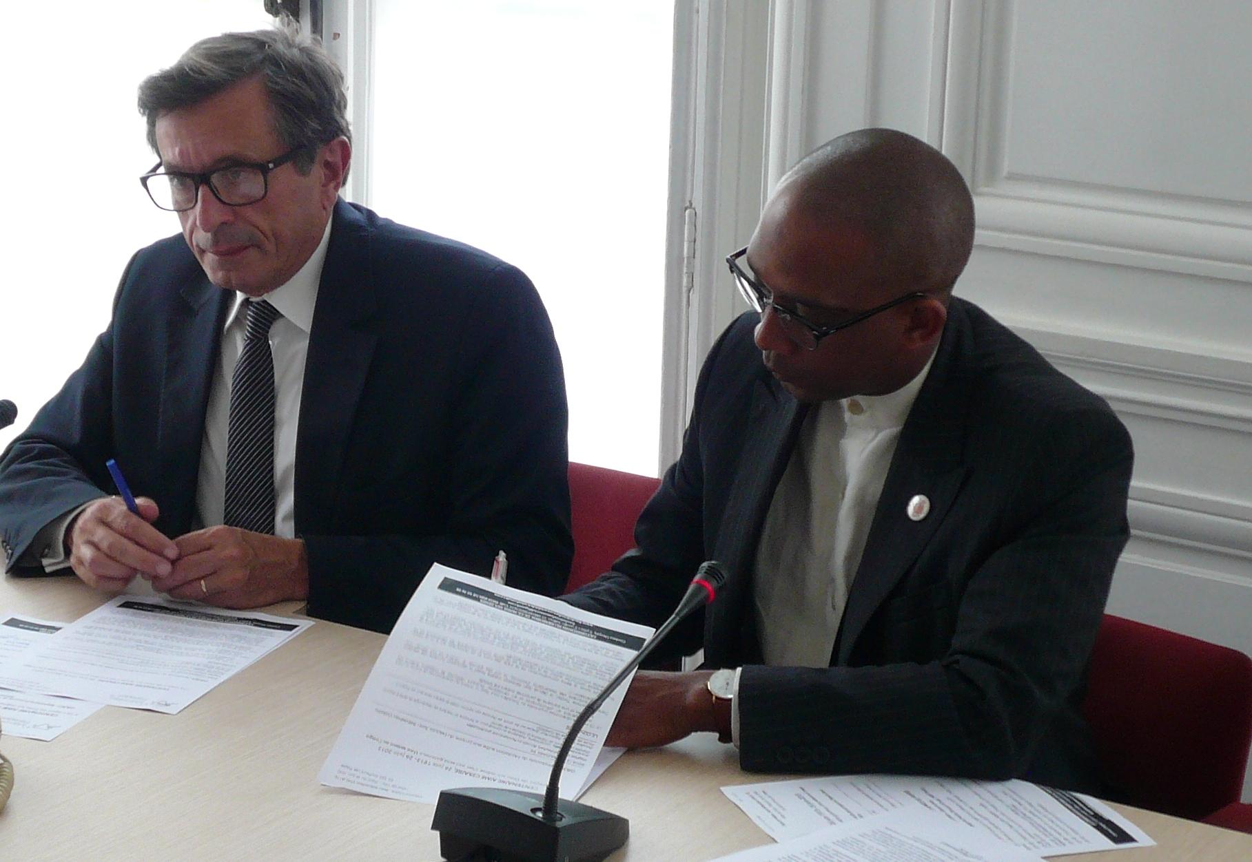 «Tweet raciste» Film de la Conférence de Presse à l'Assemblée Nationale 26 juin sur TF1