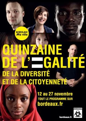 L'expo «Frères d'âme» à la Quinzaine de l'Egalité organisée par la Ville de Bordeaux