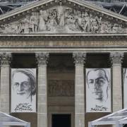 L'ESPRIT DE LA RÉSISTANCE célébré au Panthéon avec quatre nouveaux héros, 27 mai