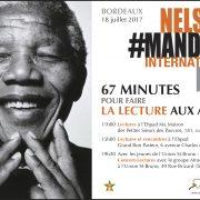 #MANDELA DAY- 67 minutes pour faire la lecture aux ainés
