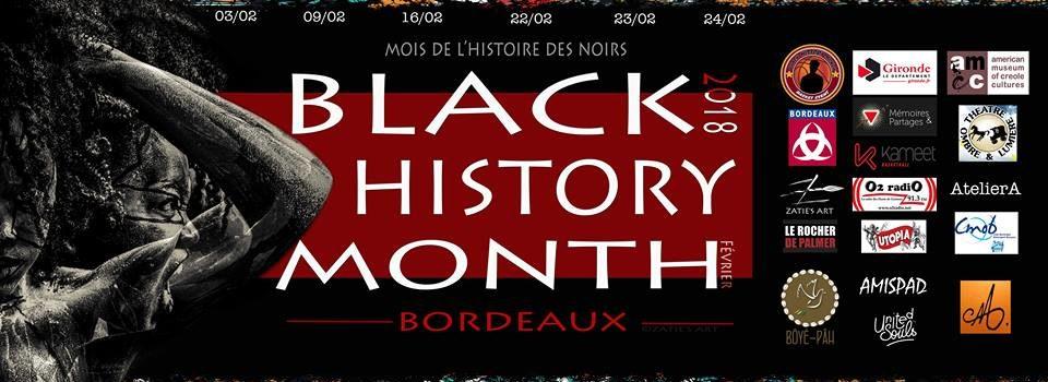 BLACK HISTORY MONTH – Les Regards pluriels de Bordeaux du 3 au 24 février 2018
